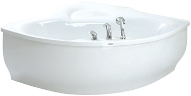 Paa Bolero Bath with Frame White 145x145