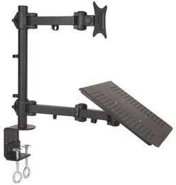 """Televizoriaus laikiklis ART Universal Desk Monitor And Notebook Holder 13-27"""""""