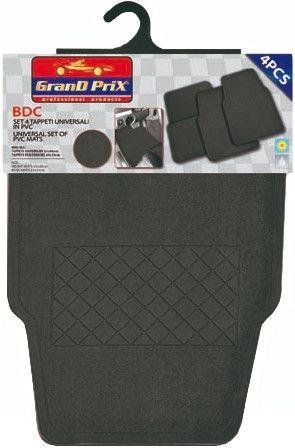 Автомобильный коврик из ткани Bottari Grand Prix BDC Universal, 4 шт.