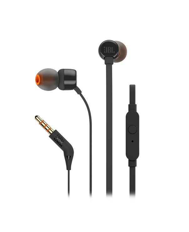 Ausinės JBL T110 In-Ear Black