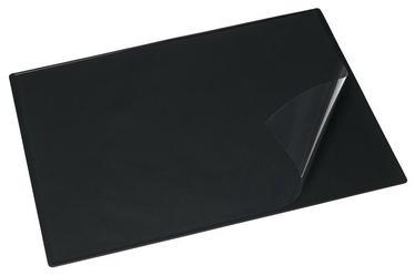 Bantex Desk Pad With Film 49x65cm Black