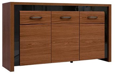 Black Red White Chest Of Drawers Arosa 89x160x40cm Brown/Black