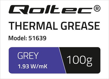 Qoltec Thermal Grease 1.93 W/m-K 100g