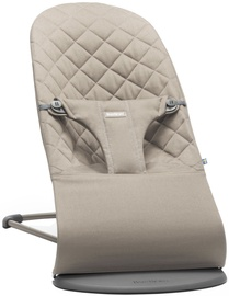 BabyBjorn Bouncer Bliss Sand Grey Cotton 006017