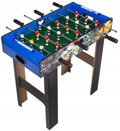 EcoToys Football Table 69 x 37cm Blue/Dark Brown