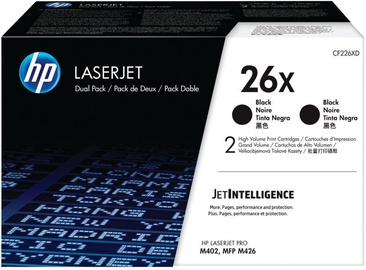 HP Toner CF226XD Double Pack 18000p Black