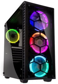 Kolink Case Observatory RGB Tempered Glass Black