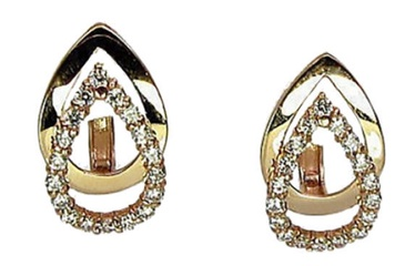 Diamond Sky Gold Earrings Gold Drop