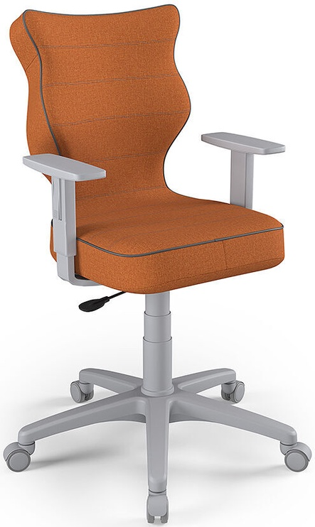 Entelo Office Chair Duo Grey/Orange Size 6 FC34