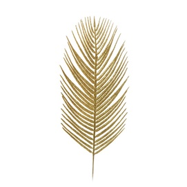ARTIFICIAL PALM TREE LEAF 80-284884 GOLD
