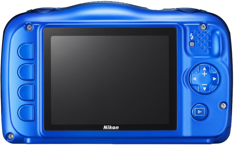 Nikon Coolpix W100 Blue + Backpack