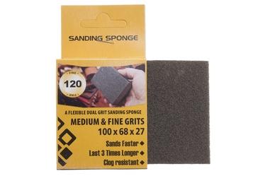 Slīpēšanas sūklis Forte Tools, NR120, 100x68x27 mm, 1 gab.