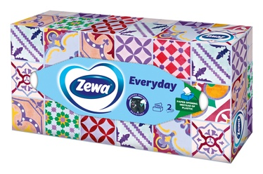 VIENR.SALVETES ZEWA EVERYDAY BOX 2SL 100