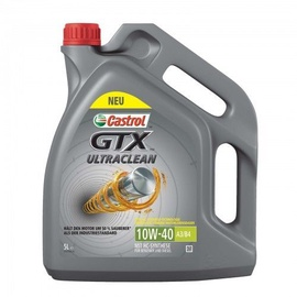 Castrol GTX Ultraclean 10W40 A3/B4 Engine Oil 5l