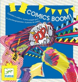 Djeco Parties Birthday Comics Boom Party Popper Guns