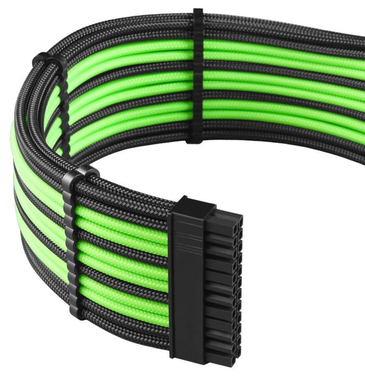 CableMod PRO ModMesh C-Series RMi/RMx Cable Kit Black/Light Green