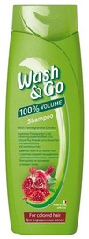 Šampūnas Wash&Go Pomegranate Extract, 400 ml