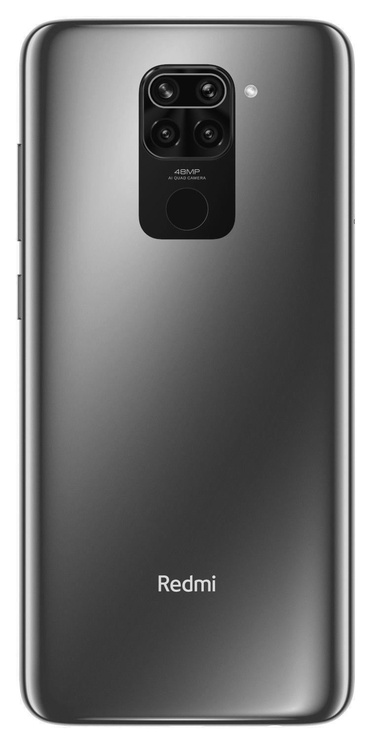 Мобильный телефон Xiaomi Redmi Note 9, черный, 4GB/128GB