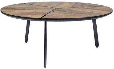 Signal Meble Rem Coffe Table 86x35cm Walnut/Black