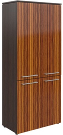 Skyland Morris MHC 85.3 Office Wardrobe 85.4x195.6x42.3cm Wenge Magic/Macassar