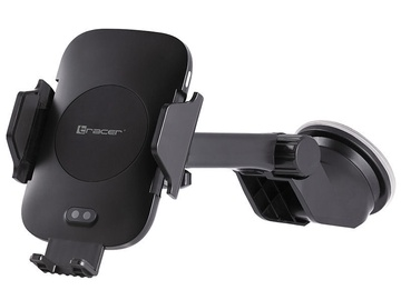 Tracer Car Mount With 10W Wireless Charger Black