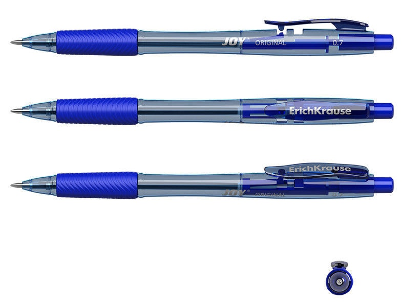 ErichKrause Ballpoint Pen Joy 0.7mm Blue