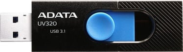USB atmintinė ADATA UV320 Black, USB 3.1, 64 GB