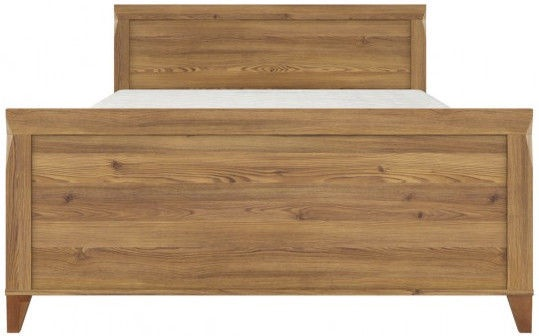 Black Red White Bed Bergen 180 Sibiu Golden Larch