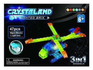 Konstruktorius Crystaland, šviečiantis sraigtasparnis, 3 in 1