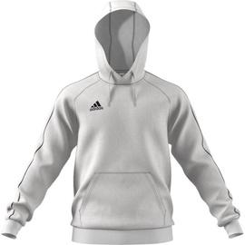 Adidas Mens Core 18 Hoodie FS1895 White L