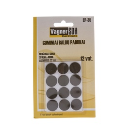 Baldų padukai Vagner SDH EP-35, 22 mm, 12 vnt