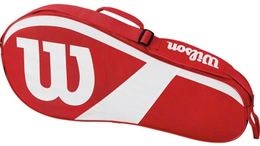 Wilson Match Tennis Bag Red/White