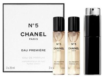 Kvepalai Chanel No.5 Eau Premiere 3 x 20 ml EDP Travel Spray