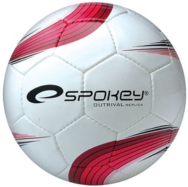 Spokey Football Outrival Replica White/Red