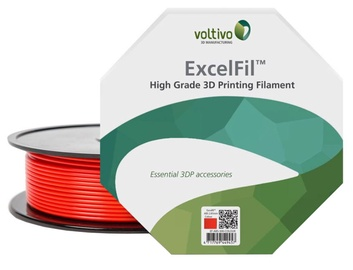 Voltivo ABS Filament Cartridge 1.75 mm Red