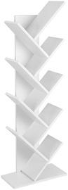 Songmics Book Shelf White 141.5x50cm