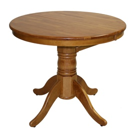 Home4you Mix&Match Extendable Dining Table 90/120cm Oak