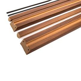 Durų stakta Classen, vertikalioji, dešininė, ruda, 2065 x 90 x 30 mm