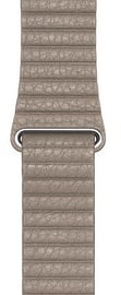 Apple 44mm Watch Band L Stone Leather Loop