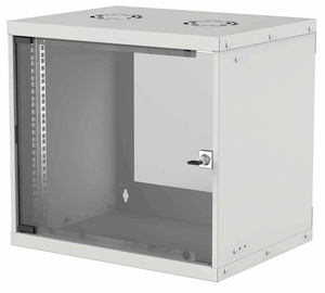 "Intellinet 19"" Basic Wallmount Cabinet 9U 400mm Gray 714167"