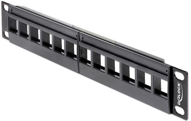 Delock Keystone Patch panel 10-inch 12-Port