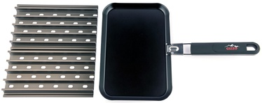 Gizzo Grill Grate + BBQ Pan
