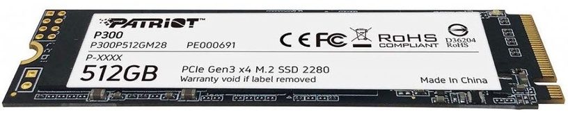 Patriot P300 512GB M.2 PCIe Gen 3 x4
