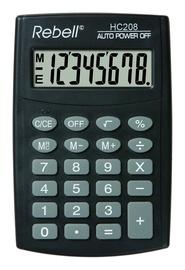 Калькулятор 121REHC208, черный