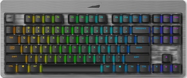 Клавиатура Mountain Everest Core Cherry MX Brown EN, черный/серый