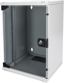 "Digitus Wallmount Cabinet 10"" 9U Grey"