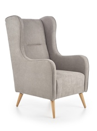 Atzveltnes krēsls Halmar Chester Light Grey, 85x67x114 cm
