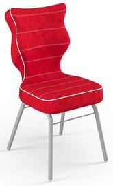 Детский стул Entelo Solo Size 3 VS09, красный/серый, 310 мм x 695 мм