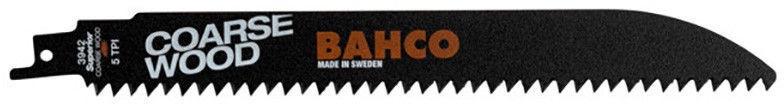 Bahco Sabre Saw HCS Blades Wood 5TPI 228mm 2pcs