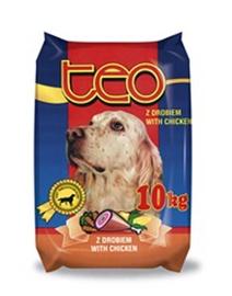 Suņu barība Teo ar vistas gaļu 10kg